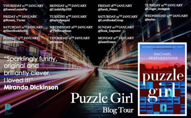 Puzzle Girl Blog Tour Poster