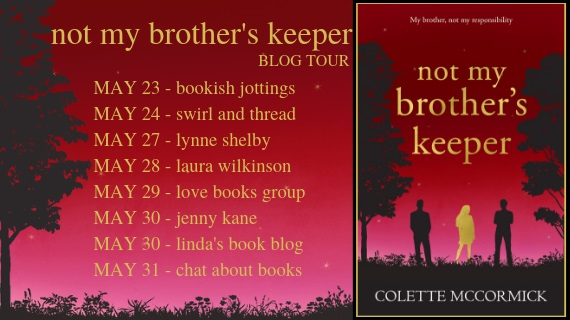 Not My Brother's Keeper blog tour