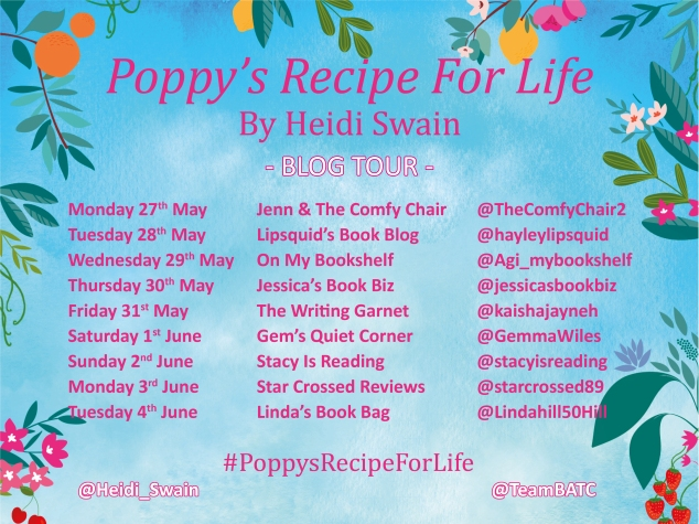 Poppy's Recipe For Life Blog Tour Graphic