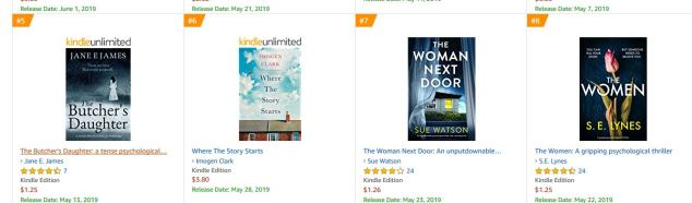 5 best seller