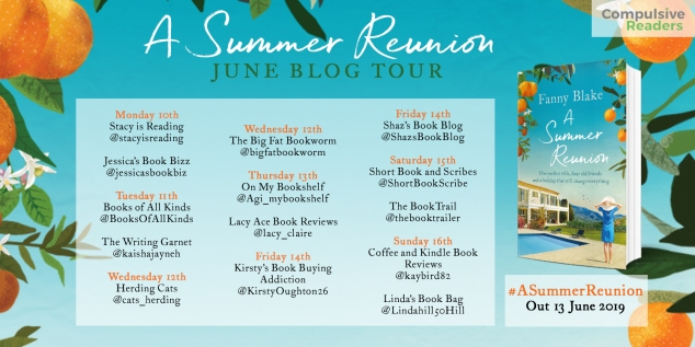 Blog Tour A Summer Reunion