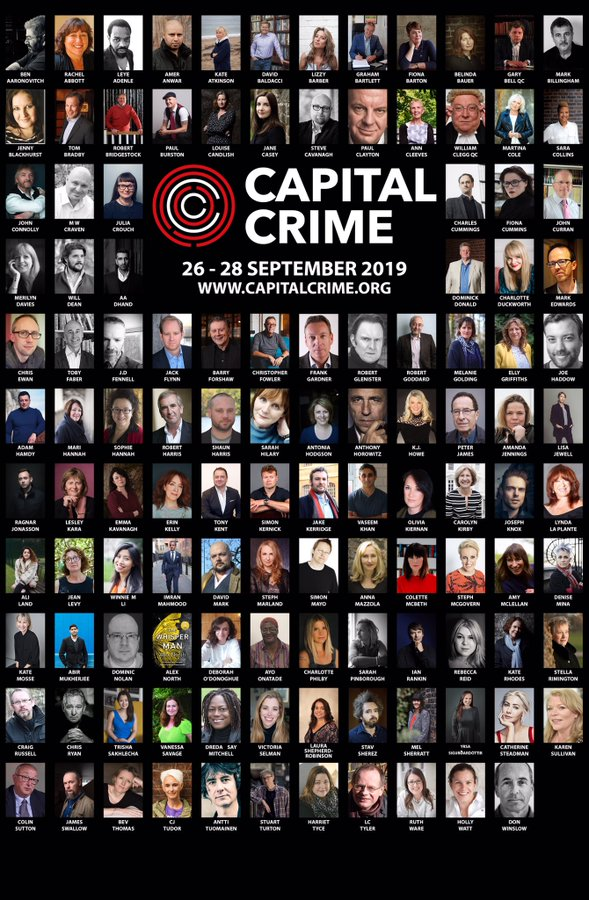 CApital crime authors