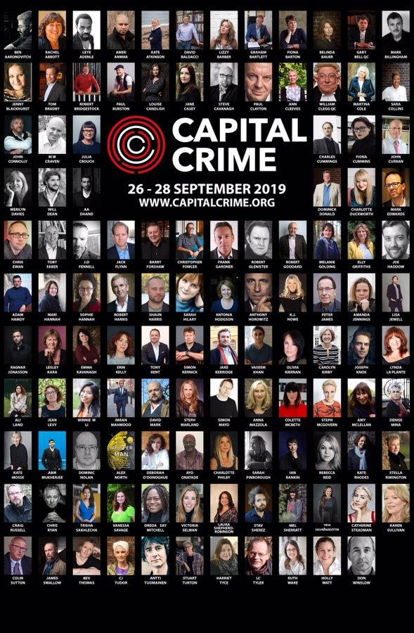 CApital crime authors