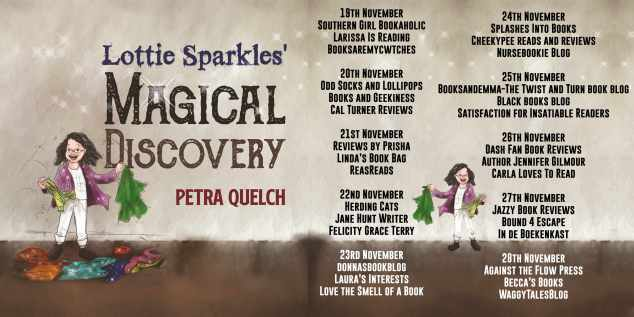 Lottie Sparkles Magical Discovery Full Tour Banner