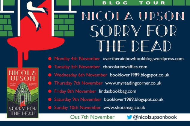 Nicola Upson Sorry For The Dead poster