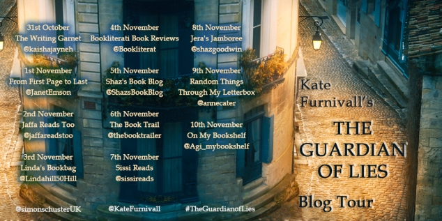 The Guardian of Lies Blog Tour Banner