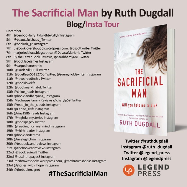 The Sacrificial Man Insta Blog Tour