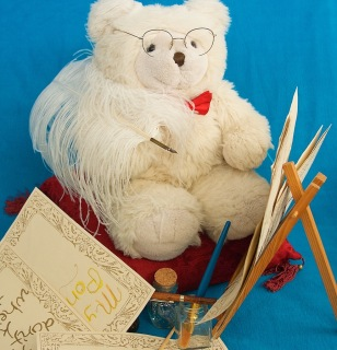 Mawson writer bear
