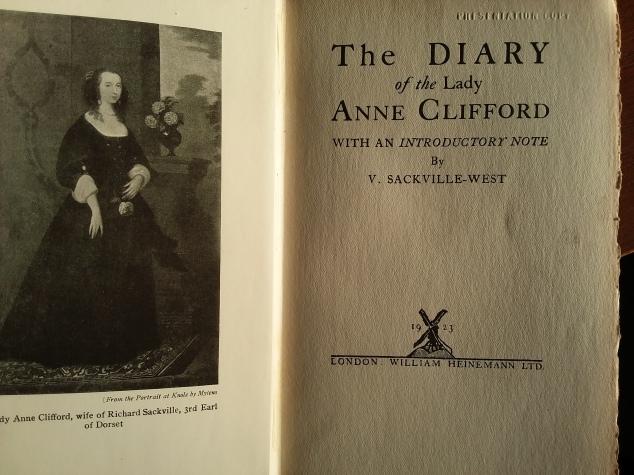 Vita's Lady Anne's Diary