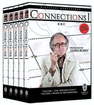 Connections dvd set by James Burke