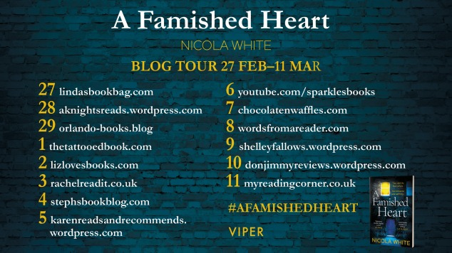 Famished Heart Blog Tour Image