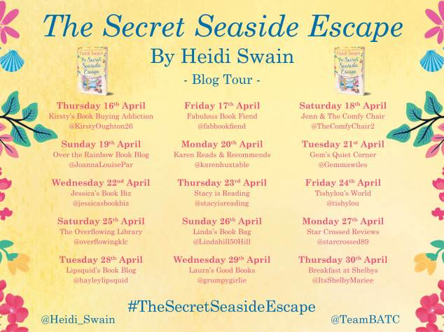 The Secret Seaside Escape Blog Tour Banner