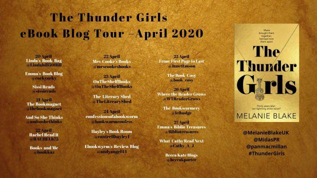 Thunder Girls final banner