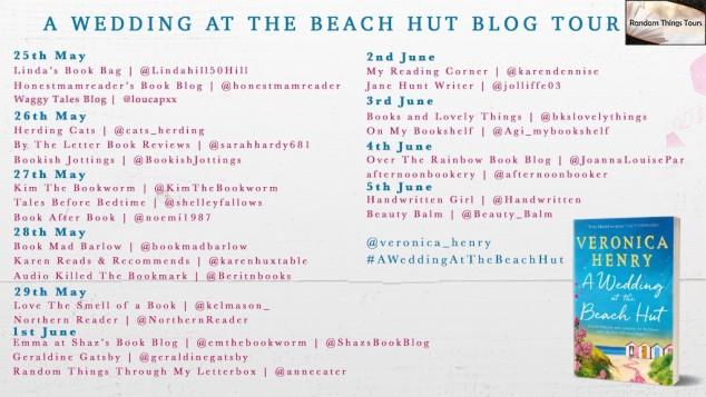 FINAL Wedding at the Beach Hut BT Poster