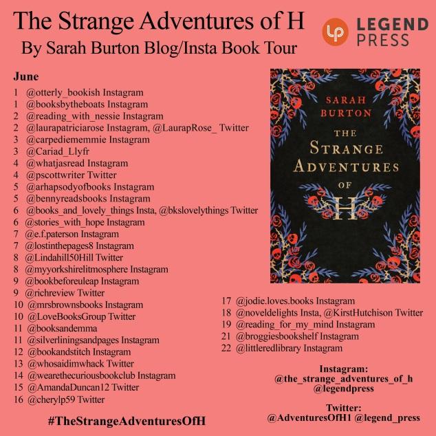 The Strange Adventures of H Blog Tour