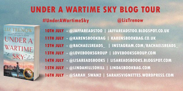 Under a wartime sky blog tour