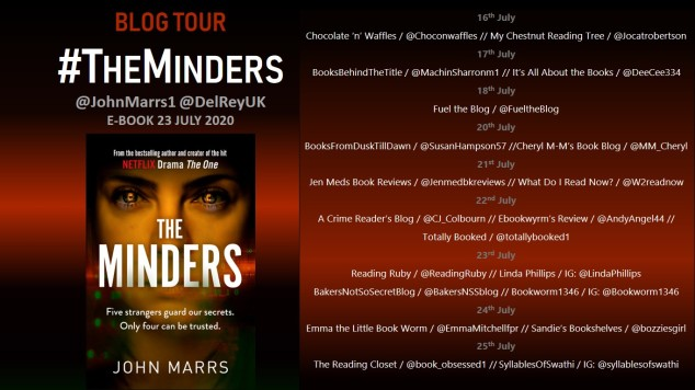 Blog tour Minders banner 3