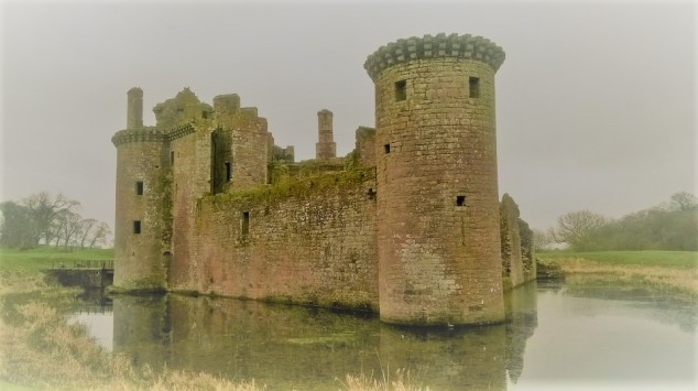Caerlaverock photo Barbara Henderson