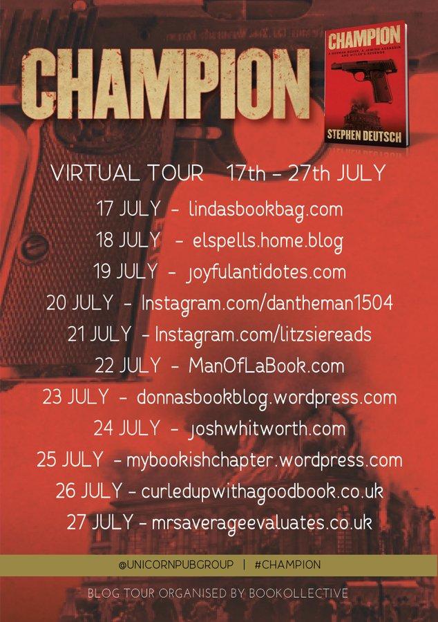 champion blog tour