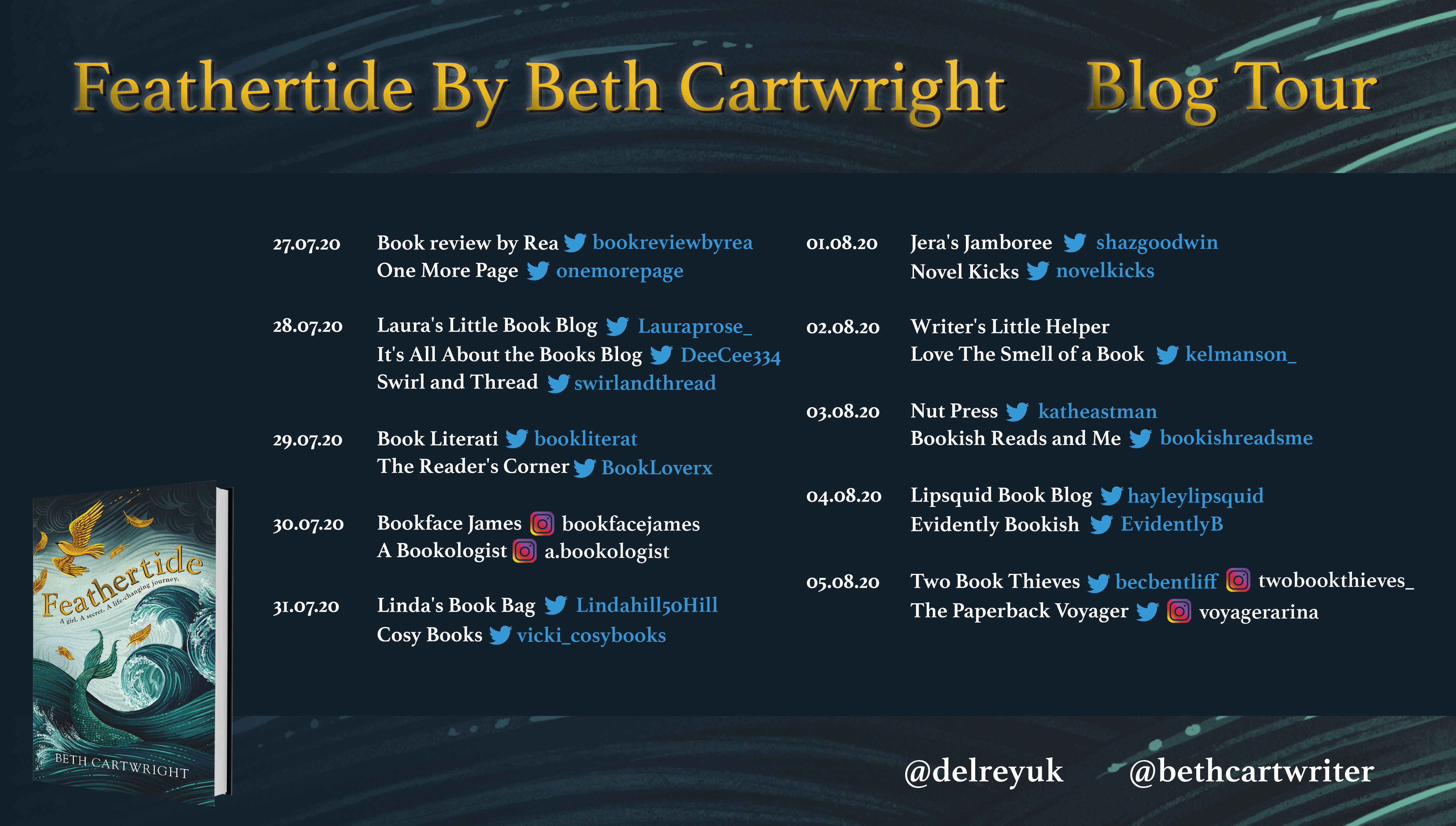 Feathertide Blog Tour Banner
