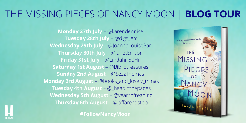 NANCY MOON - BLOG TOUR