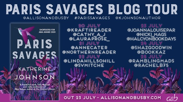 Paris Savages twitter blog tour