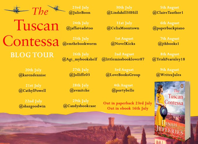 Tuscan Contessa tour poster