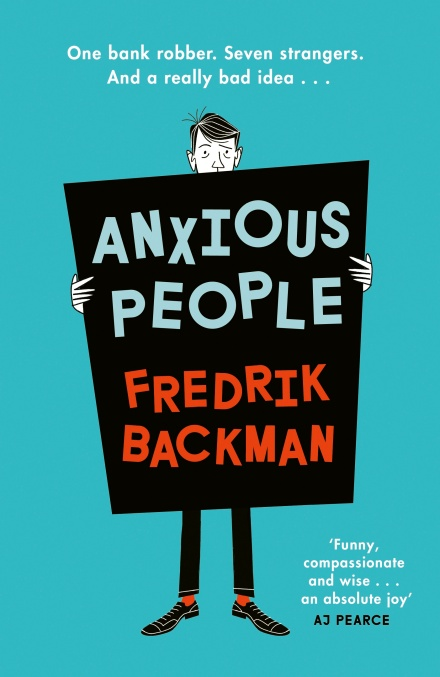 Anxious People by Fredrik Backman | Linda's Book Bag