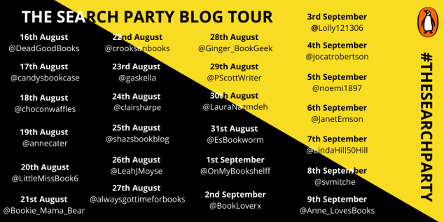 The Search Party blog tour (1)